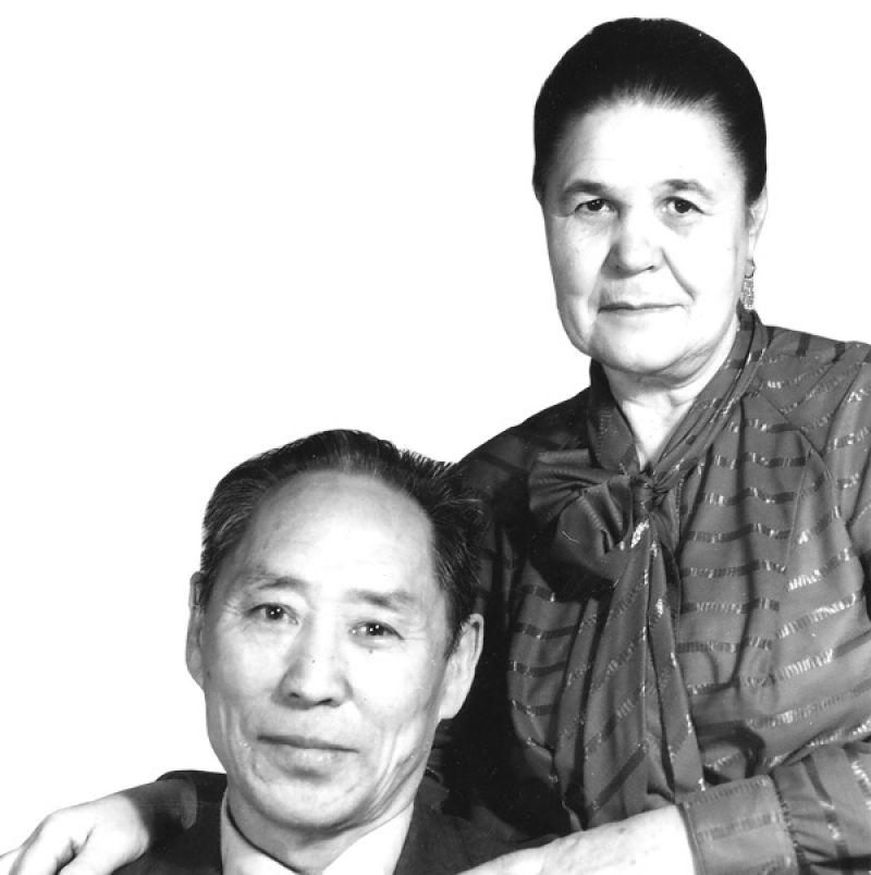 В.С.Яковлев с супругой Яной Викторовной